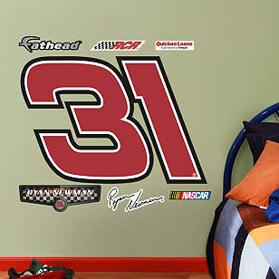 Ryan Newman #31 Quicken Loans Logo - Fathead Jr